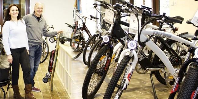 vélo électrique paris