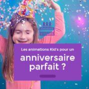 Organisation d'anniversaire pour enfant à Paris